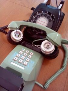 音響カプラ - 電話機