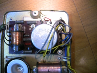 黒電話の回路